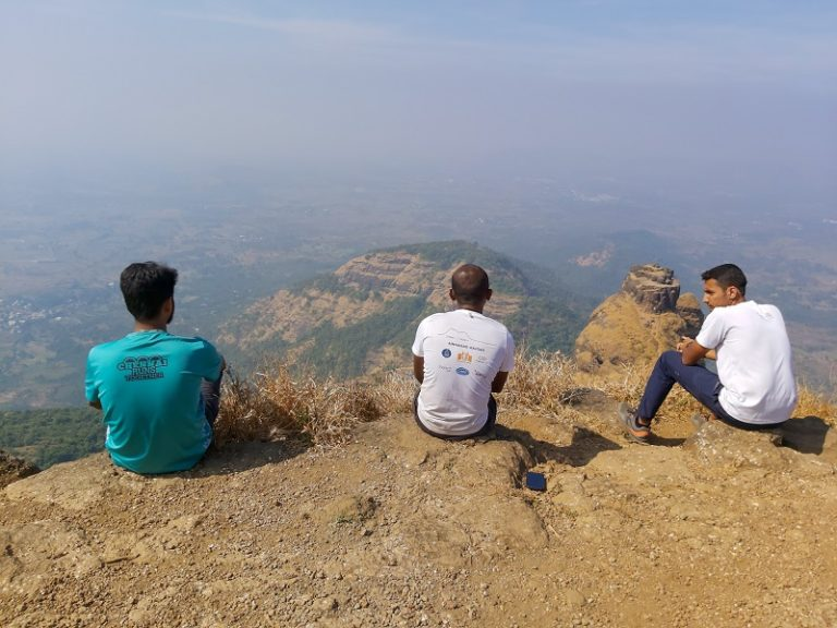 Kalavantin Durg View from Prabalgad